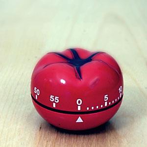 Klassischer Pomodoro-Timer für Zeitmanagement