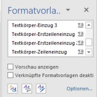 So formatierst du mit Formatvorlagen deine Bachelorarbeit in Microsoft Word
