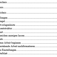 Inhaltsverzeichnis für Bachelorarbeit erstellen und layouten: Tutorial in 4 einfachen Schritten