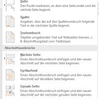 Umbrüche in Microsoft Word nutzen: So funktionieren Seiten-, Zeilen- und Abschnittsumbrüche