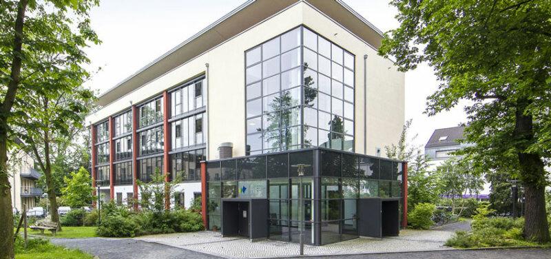 Campus der IU Internationalen Hochschule