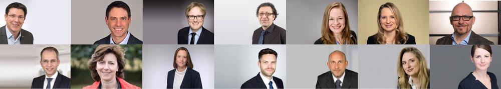 IU Professoren und Dozenten