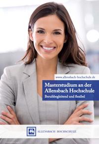 Broschüre der Allensbach-Hochschule
