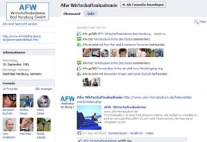 AFW Fernstudium Facebook