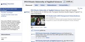 PFH Fernstudium Facebook