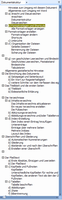Dokumentstruktur