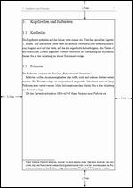 Satzspiegel Masterarbeit