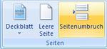 Seitenumbrüche in Word 2007 einfügen